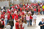 Thousands Of Alabama Fans Converge On The Georgia Dome — Stockfoto