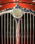 Chiang Mai, Thailand - March 28 - Logo MITSUOKA Car On Display I — Foto Stock