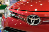 Chiang Mai, Thailand - March 28 - Logo Toyota Car On Display In  — ストック写真