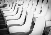 Banquet Chairs (back and white tone) — Stock Photo