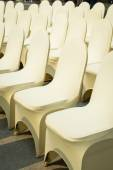 Banquet Chairs — Stock Photo