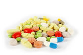 Colorful medical pills — Stock Photo