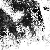 Abstract ink grunge texture vector — Stock Vector