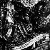 Abstract ink grunge texture vector — Vector de stock