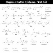 Agentes buffer orgánico — Vector de stock