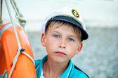 Summer adventures at sea — Stock Photo