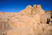 Ancient ruins around the Unfinished Obelisk in Aswan, Egypt — Stock Photo