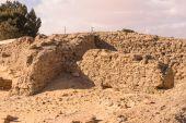 Ruins of the Temple of Ain-al-Muftella, Egypt — Stock fotografie