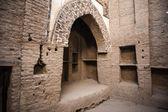 Al Qasr, old village in Dakhla Desert, Egypt — Stock Photo