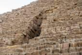 Nécropole de Gizeh, Plateau de Gizeh, en Egypte. Patrimoine mondial de l'Unesco — Photo