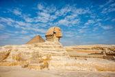 Giza Plateau, rive ouest du Nil, Gizeh, Egypte — Photo