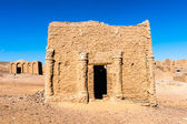Al-Bagawat (El-Bagawat), Egypt — Stock Photo