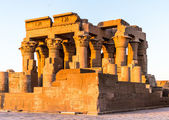 Temple of Kom Ombo during the sunrise, Egypt — Stock Photo