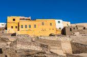 Old abandoned houses near in Egypt — Stockfoto