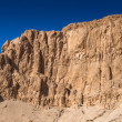 Part of the Mortuary temple of Hatshepsut, Western Bank of the Nile — Stock Photo #62464523