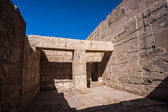 The Medinet Habu (Mortuary Temple of Ramesses III), West Bank of Luxor in Egypt — Zdjęcie stockowe