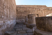 The Medinet Habu (Mortuary Temple of Ramesses III), West Bank of Luxor in Egypt — Photo