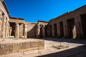 The Medinet Habu (Mortuary Temple of Ramesses III), West Bank of Luxor in Egypt — Stock Photo