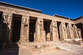 Medinet Habu (Mortuary Temple of Ramesses III), West Bank of Luxor in Egypt — Stock Photo