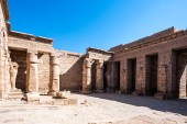 Medinet Habu (Mortuary Temple of Ramesses III), West Bank of Luxor in Egypt — Photo