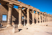 Temple of Isis from Philae (Agilkia Island in Lake Nasser) — ストック写真