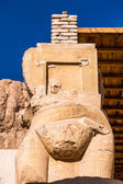 Part of the Mortuary temple of Hatshepsut,  Western Bank of the Nile — Stock Photo