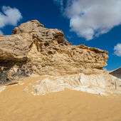 Western White Desert National Park of Egypt — Stock Photo
