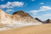 Western White Desert National Park of Egypt — Stock Photo