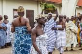 Real people in Ghana, Africa — Foto de Stock