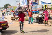 Real people in Ghana, Africa — Stock Photo