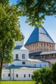 Architecture of Novgorod, Russia — Stock fotografie