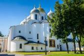 Architecture of Novgorod, Russia — Стоковое фото
