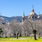El Escorial, Madrid, Spain. UNESCO World heritage site — Stock Photo #69256819
