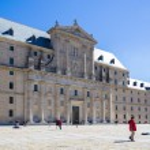 El Escorial, Madrid, Spain. UNESCO World heritage site — Stock Photo #69256833