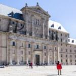 El Escorial, Madrid, Spain. UNESCO World heritage site — Stock Photo #69256845