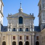 El Escorial, Madrid, Spain. UNESCO World heritage site — Stock Photo #69256917