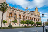 Architecture of Valencia, Basque Country, Spain — Stock Photo