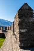 Architecture of Bellinzona, Switzerland — Stock Photo