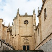 Architecture of Segovia, Spain — Stock Photo
