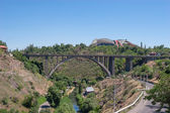 The Great Bridge of Hrazdan, Yerevan, Armenia — Stock Photo
