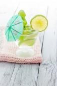 Cold Mojito cocktail — Stock Photo