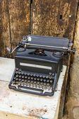 Vieille machine à écrire — Photo