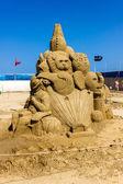 Sculptures de sable — Photo