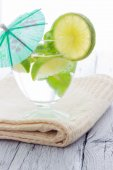холодный коктейль мохито — Стоковое фото