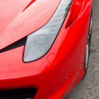 Red supercar — Stock Photo #61922145
