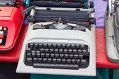 老打字机 — 图库照片
