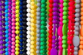 Colorful necklaces — Stock Photo
