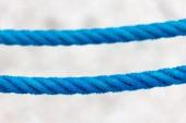 Corda blu — Foto Stock