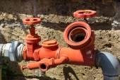 Hydraulic hose — Stock Photo