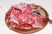 Mixed cold cuts — Stock Photo